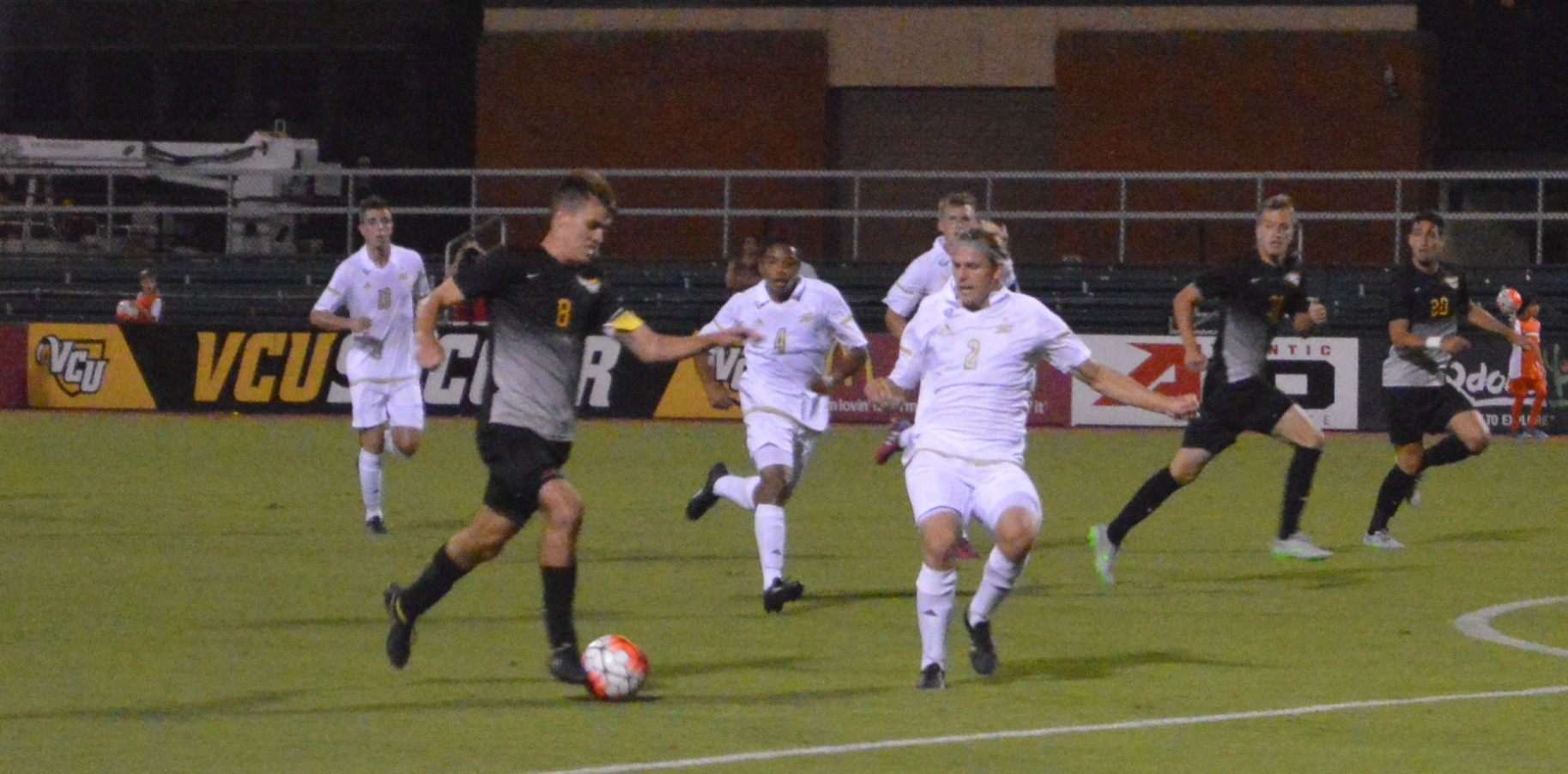 108 and Heartbreak: Macchione's Header lifts Akron past VCU