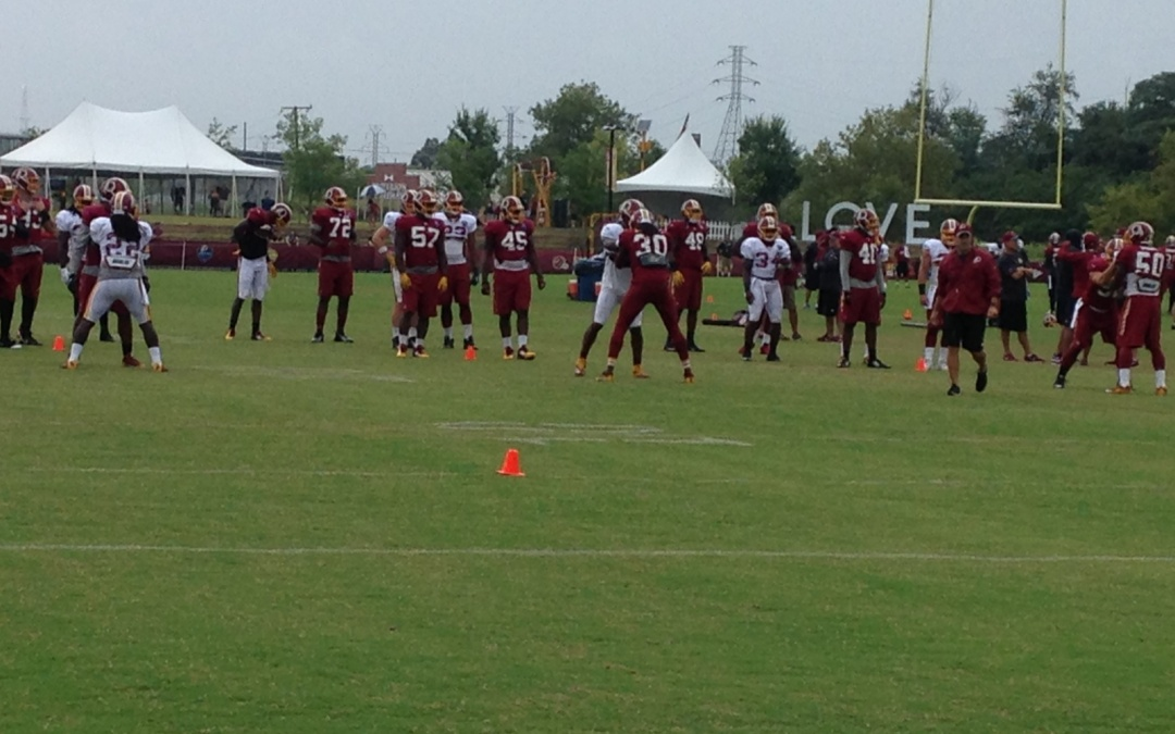 Day 10: Kirk Cousins Struggles and Redskins Release their First unofficial depth chart