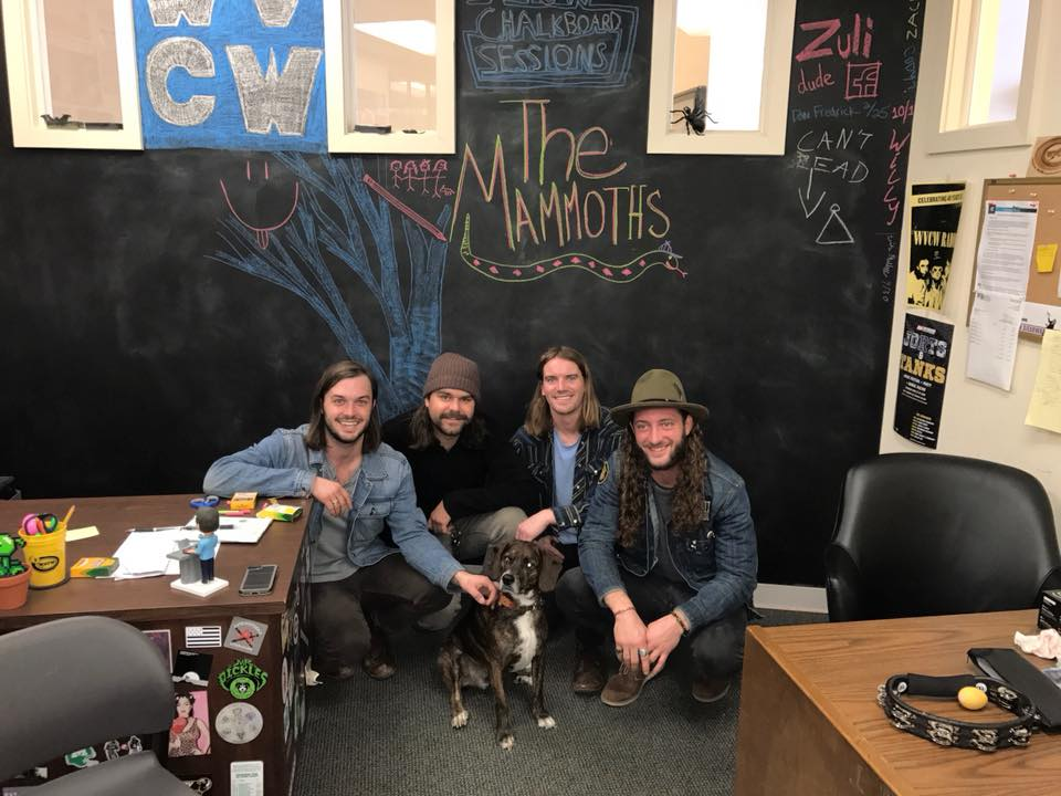 WVCW's Chalkboard Sessions: The Mammoths