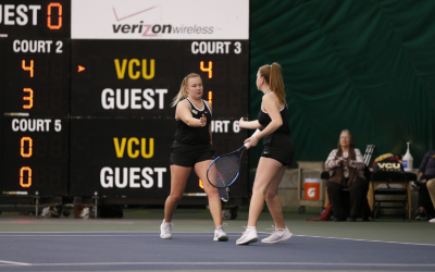 Women's Tennis beats Temple