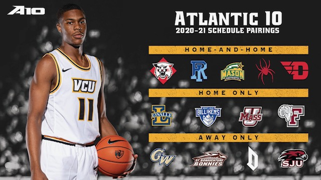 VCU Men's Basketball Conference Pairings Released