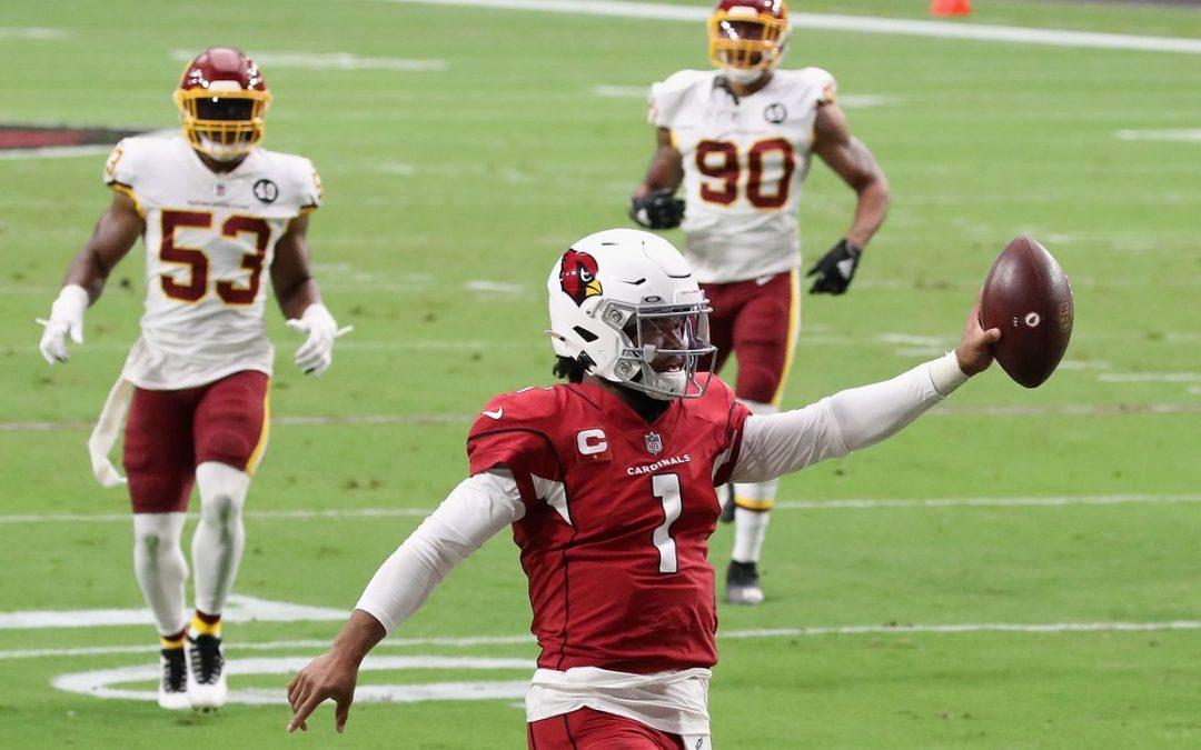 The Washington Football Team falls to Kyler Murray and the Cardinals