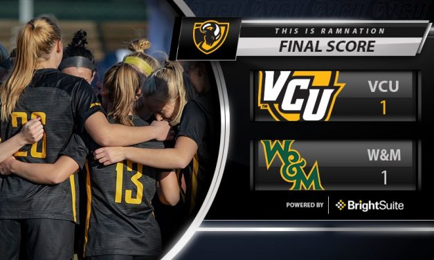 VCU WOMEN'S SOCCER TIES WILLIAM AND MARY 1-1