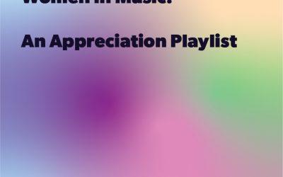 Women In Music Appreciation