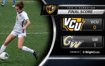 Women's Soccer Falls to George Washington University at Home