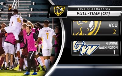 VCU Men's Soccer Defeats George Washington University in a Dramatic Overtime Victory