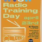 WVCW Radio Training Day